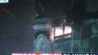 Taj Mahal hotel attacked.flv