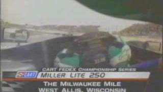 Paul Tracy onboard Milwaukee mile 2002