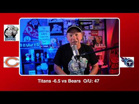 Tennessee Titans vs Chicago Bears NFL Pick and Prediction Sunday 11/8/20 Week 9 NFL