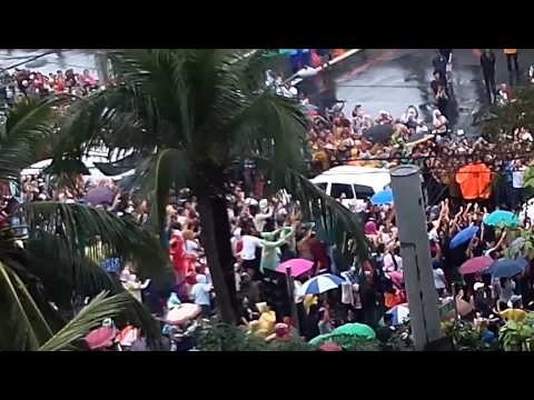 Pope Francis on Pandacan, Manila, Philippines