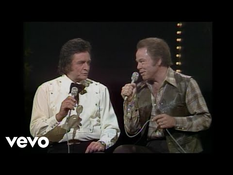 Johnny Cash, Roy Clark - Gene Autry Medley (Live)