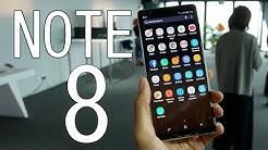 Samsung Galaxy Note 8 : Notre prise en main et nos premières impressions!