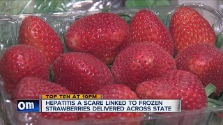 Check the list: Hepatitis A outbreak could be connected to frozen strawberries
