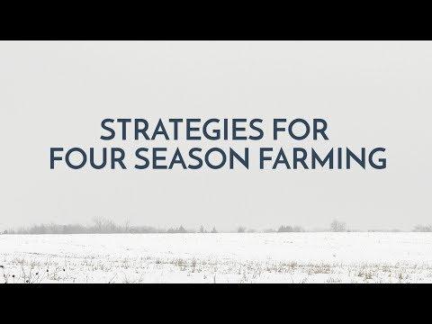 Chefarmer Ken Myszka on Strategies for 4-season farming - 2017