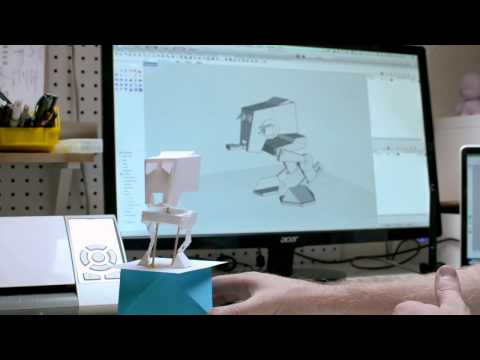 Industrial Design With the Silhouette Cameo