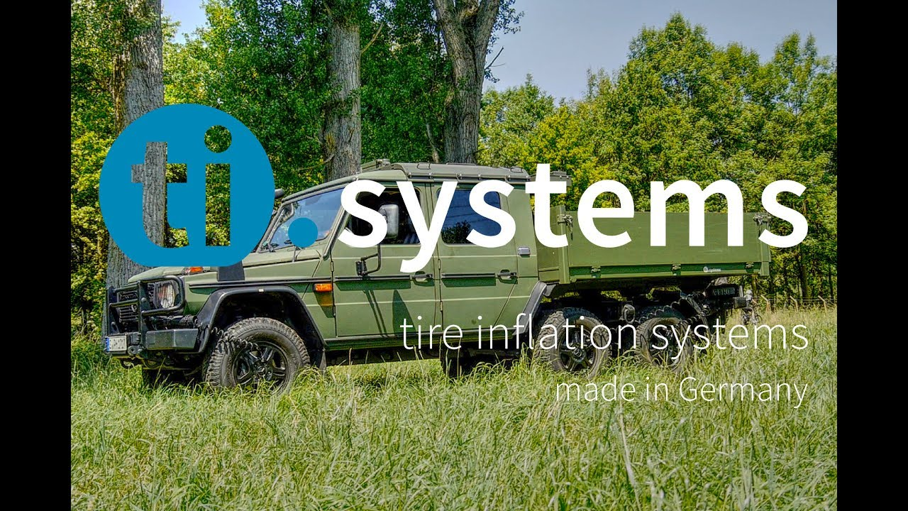 Mercedes benz g wagon 6x6 tire inflation system stis for Mercedes benz tire inflator