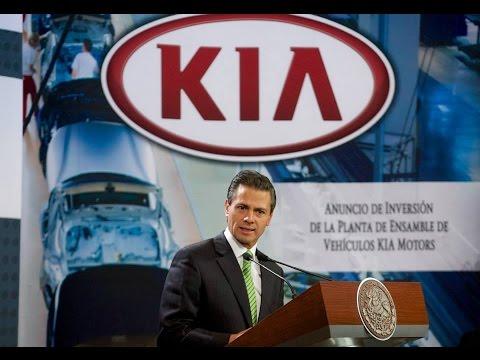 Anuncio de inversión de la Planta de Ensamble de Vehículos Kia Motors