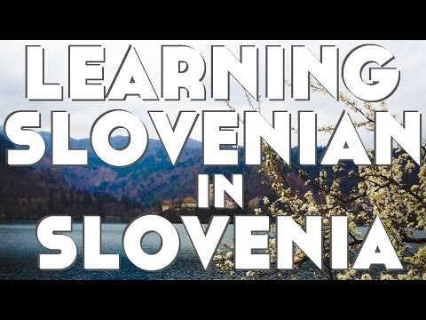 Learning Slovenian in Slovenia║Lindsay Does Languages Video