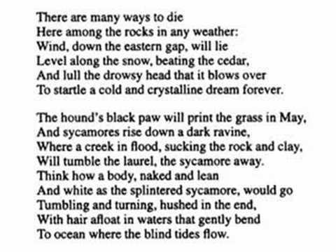 """""""History Among the Rocks"""" by Robert Penn Warren (read by Tom O"""