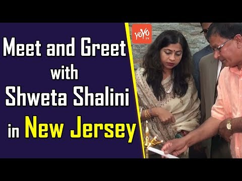 Meet and Greet with Shweta Shalini in New Jersey, USA | YOYO TV Channel