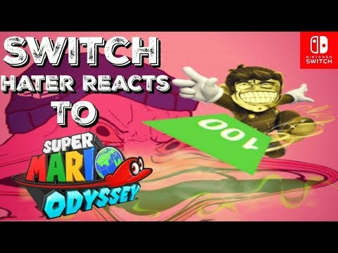 Nintendo Switch Hater Reacts to the Super Mario Odyssey Review Scores