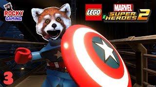 РОККИ играет в LEGO MARVEL SUPER HEROES 2! Часть 3: Русская Озвучка! 6+