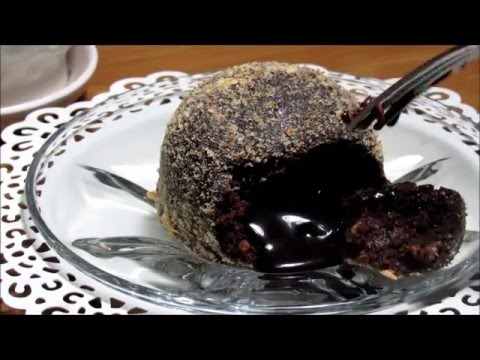 How to: No-bake Chocolate Molten Lava Cake.