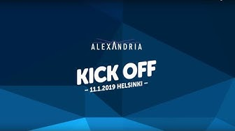 Alexandria KickOff 11 1 2019 Aftermovie