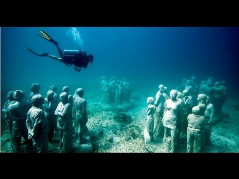 An underwater art museum, teeming with life   Jason deCaires Taylor