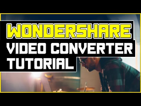 Wondershare Video Converter Ultimate Tutorial - Burn DVD, Stream Videos, Convert Any Video