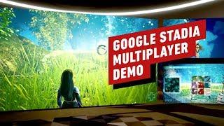 Google Stadia Multiplayer Demo - GDC 2019 thumbnail