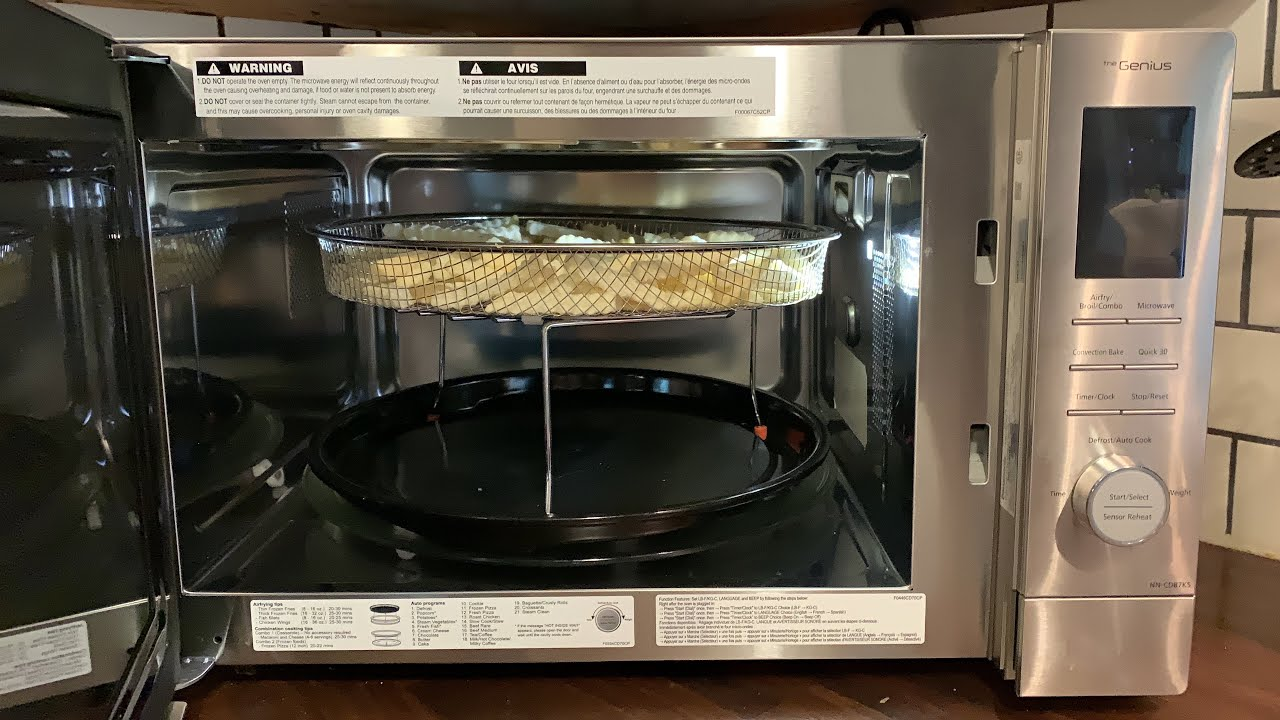 1 Microwave Oven With Air Fry