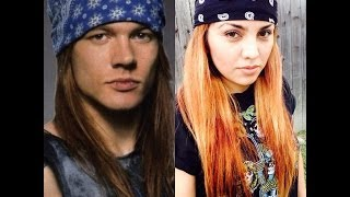 outfits inspirados en axl rose guns and roses versin femenina