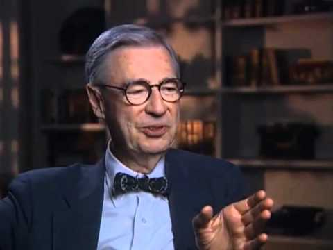 Fred Rogers discusses getting his start in television