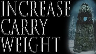 How to Increase Your Carry Weight in Skyrim