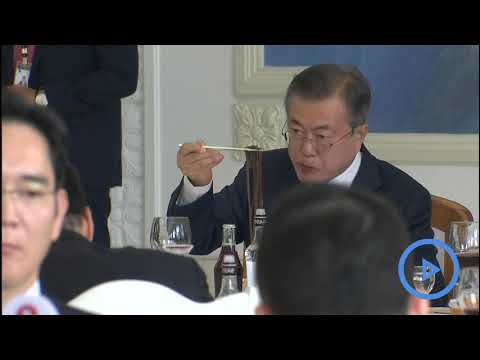 North Korea's Kim Jong Un and South's President Moon Jae-in sign agreement in Pyongyang