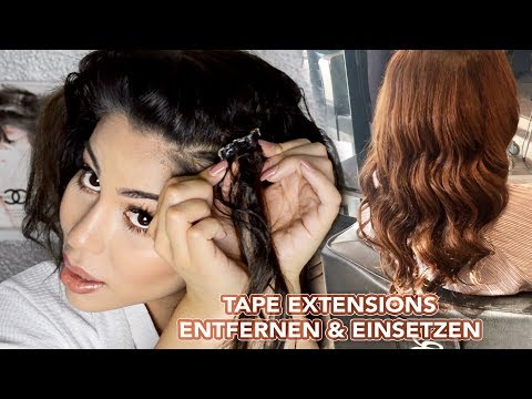 Hairdreams extensions entfernen