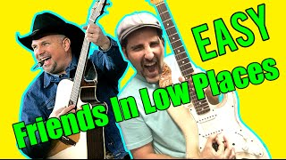 Garth Brooks - Friends In Low Places - How To Play On Guitar - Tutorial
