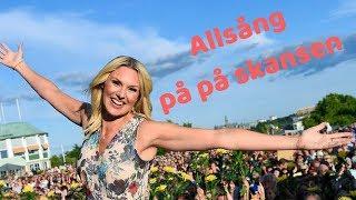 Allsång på skansen genrep 2018