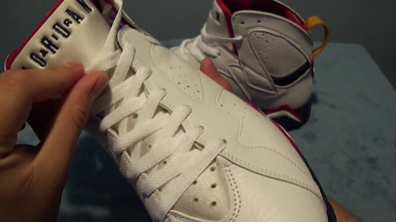 e36694be6a1540 Nike Air Jordan 7 Retro Cardinal VII 2006 - YouTube