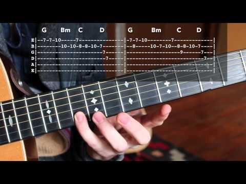 "Grateful Dead ""Uncle Johns Band"" Intro - Lead Guitar Lesson"