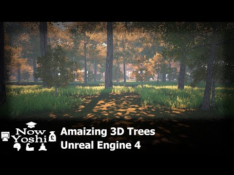 Treeit Guide for Unreal engine 4 - Amazing Tree software