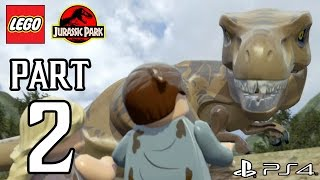 LEGO Jurassic World Walkthrough PART 2 (PS4) Gameplay No Commentary[1080p] TRUE-HD QUALITY