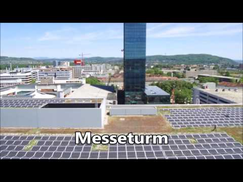 Video of a solar power plant in Basel / Film einer Photovoltaikanlage in Basel