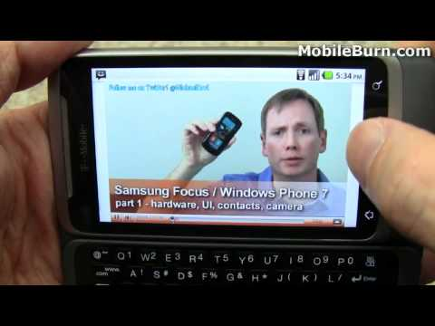 T-Mobile G2 by HTC review - part 1 of 2