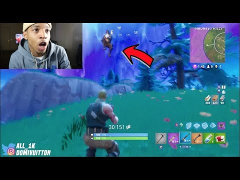THE ENDING IS CRAZY NINJA VS B LOU- FORNITE