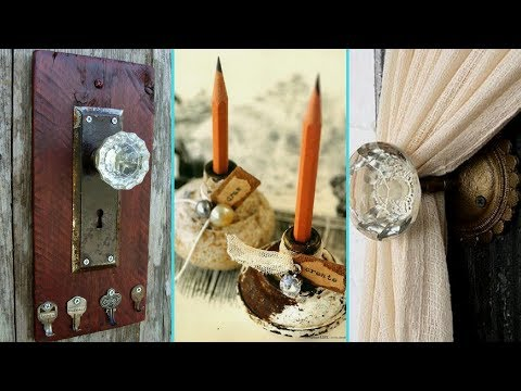 ❤ DIY Shabby Chic Style Door Knob Upcycle Ideas ❤ | Home Decor & Interior Design | Flamingo Mango|