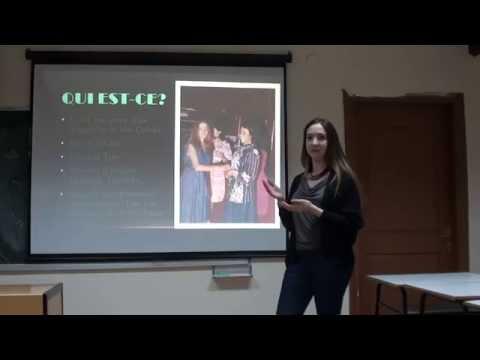 présentation du projet 1 (İrem / Classe A / octobre 2014)