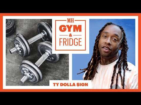 Ty Dolla $ign Shows His Home Fridge & Gym | Gym and Fridge | Men's Health thumbnail