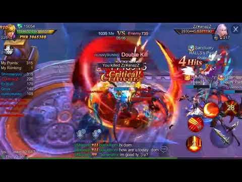 Empire Strike; Goddess: Primal Chaos NA Interserver 1-18 (10/28/17)