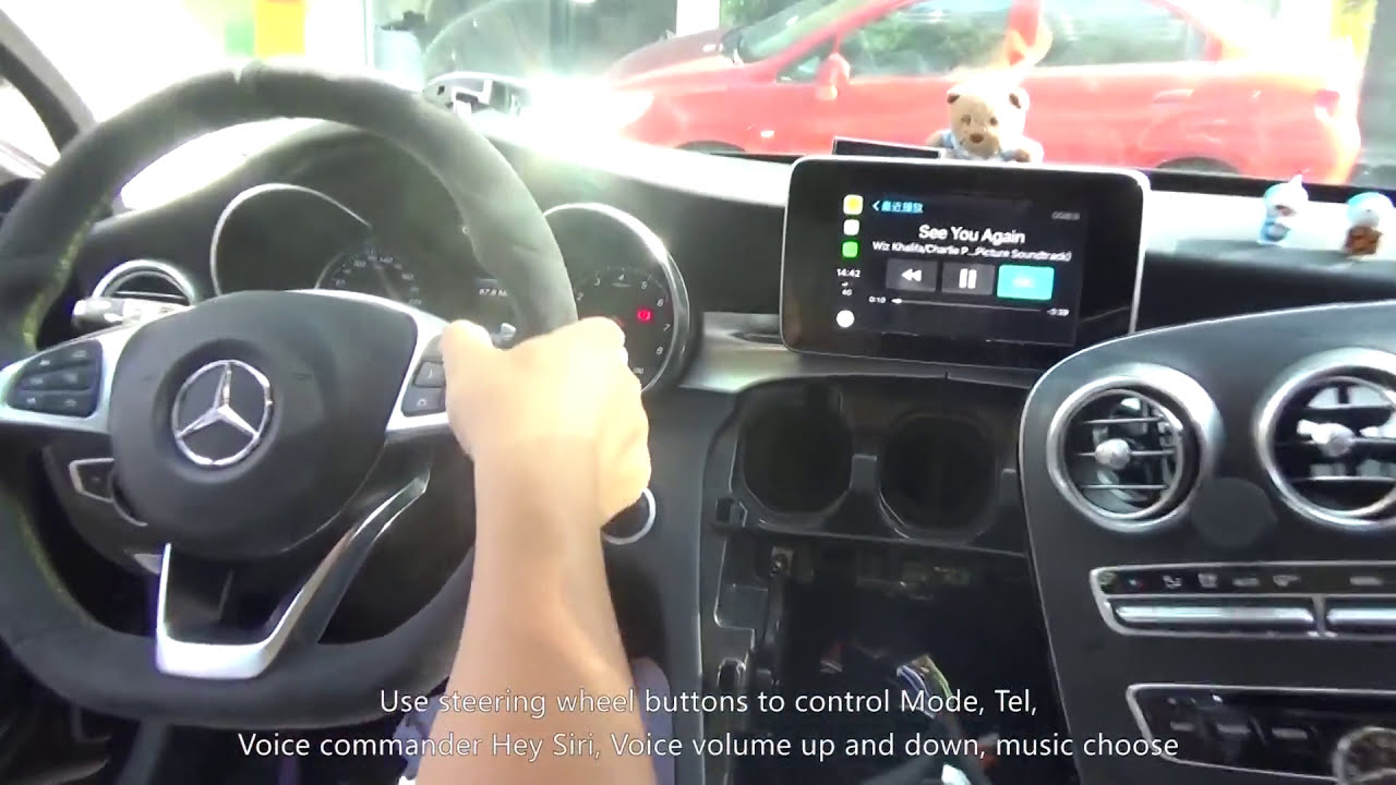 How To Install Carplay For Mercedes 2015-2017 C W205 Glc W253 ?  Autosvs  Technology - Unichip Smartauto Solutions 05:10 HD