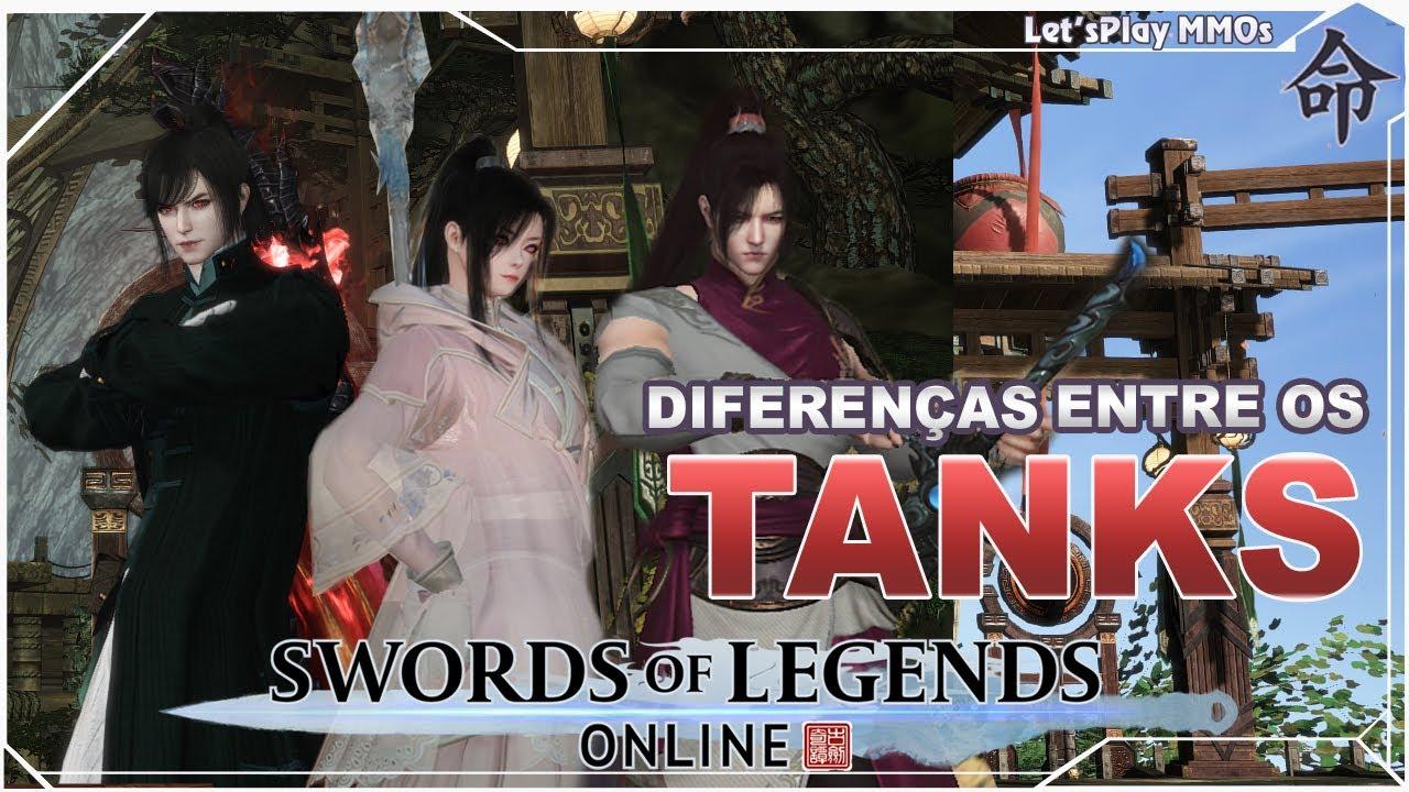 Diferenças entre os TANKs: Spearmaster, Berserker e Warrior - Swords of Legends Online