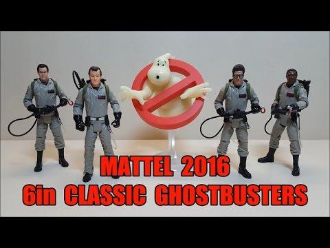 Mattel 2016 6in Classic Ghostbusters Review! Bert the Stormtrooper Reviews!