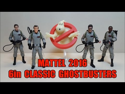 Mattel 2016 6in Classic Ghostbusters Review!