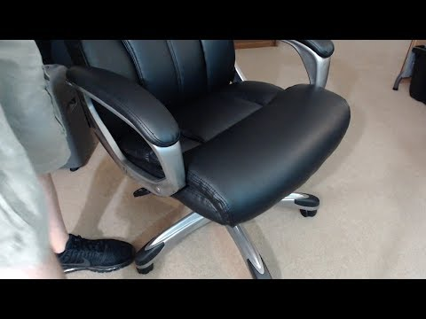 AmazonBasics High Back Executive Chair – Black REVIEW