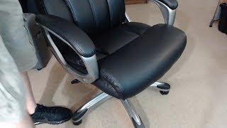 AmazonBasics High Back Executive Chair - Black REVIEW