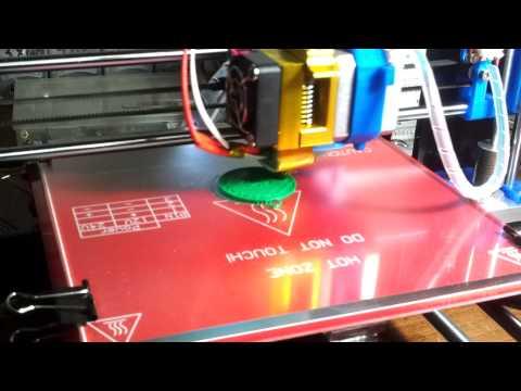 Second Print Prusa i3 Rework
