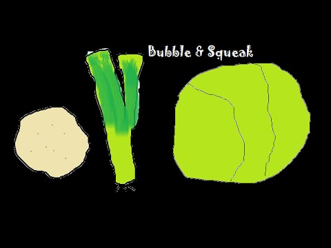 how to make bubble and squeak stick together
