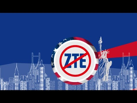US imposes 7-year components embargo on ZTE