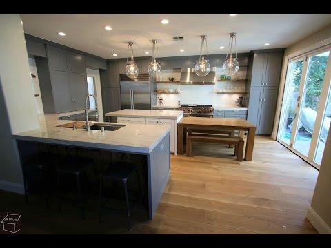Industrial Design Build Kitchen Remodel In Rancho Santa Margarita Orange County